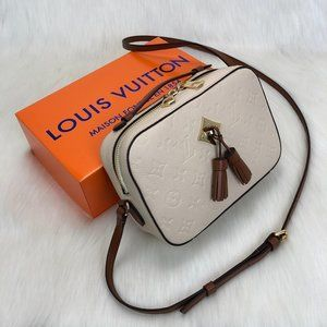 Louis Vuitton Saintonge Empreinte 22x16x8